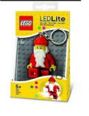 LEGO Santa Father Christmas Keyring LED Key Light Torch